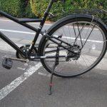 取り付け簡単、カッコイイ! 自転車の一本スタンド