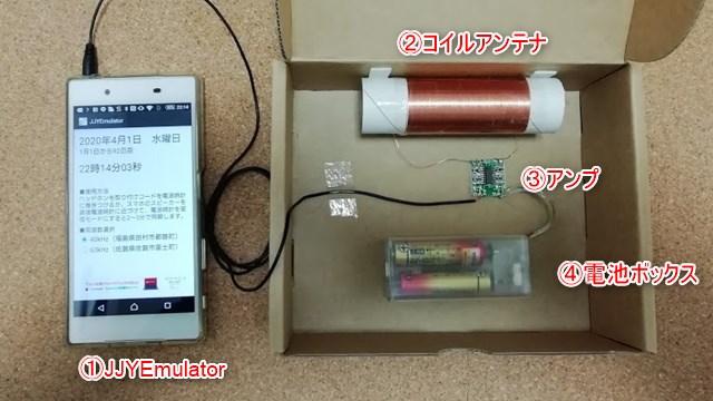 JJY発信機の構成