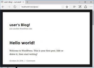 bitnami-wordpress-ブログサイト
